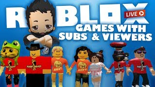 ROBLOX Live Stream Right Now - Our favourite games to stream!