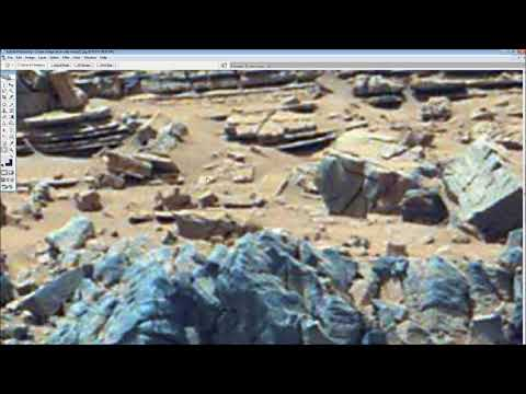 Part 3 Sol 710 Buried structures and water features, Gale crater