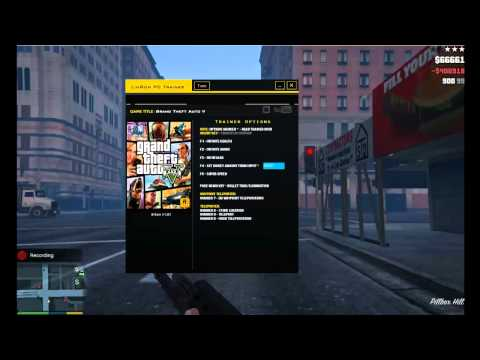 Grand Theft Auto V - Trainer Preview - LinGon