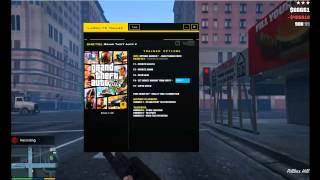 Grand Theft Auto V - Trainer Preview - LinGon