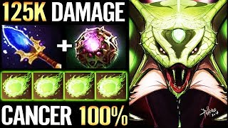 Broken Hero 125k DAMAGE - Dota 2 Most Annoying Hero Venomancer -