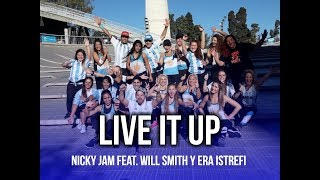 Live It Up - Nicky Jam feat. Will Smith y Era Istrefi (2018 FIFA)   KF Dance   Coreografía Zumba®