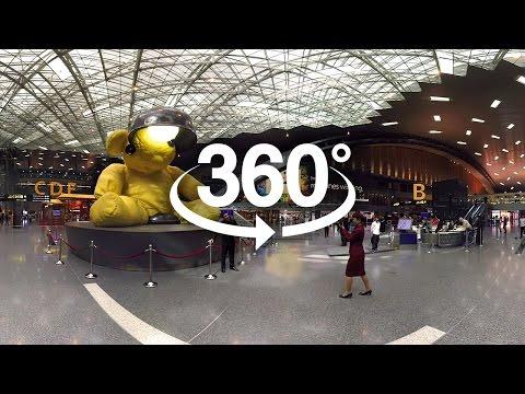 360 Tour of Doha's Hamad International Airport - Qatar Airways