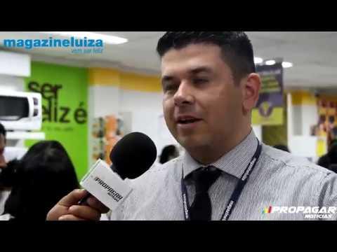 Propagar Notícias| Inauguração Magazine Luiza: Santo Estevão