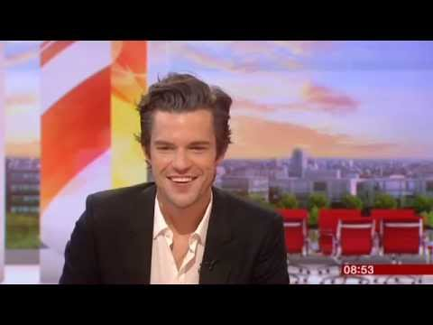 Brandon Flowers BBC Breakfast 2015