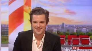 Brandon Flowers BBC Breakfast 2015