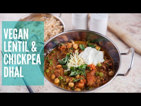 Vegan Lentil & Chickpea Dhal | GCBC12 Ep31