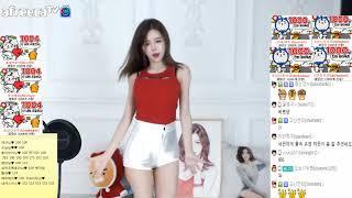 Hot Girl Korean BJ셀리 尹素婉 Recover Dance    期 直播剪辑