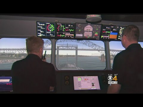 High Tech Simulator Trains Sailors Of The Future At Mass. Maritime