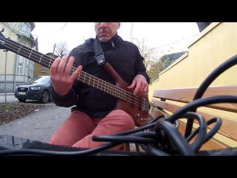 Rush - anthem bass cover