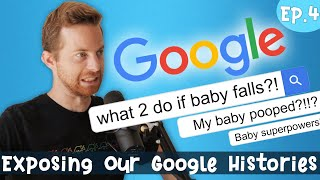 We Expose Our Google Histories - Baby Steps. Ep. 4  - Pregnancy Week 27