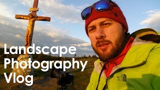 Landscape photography vlog: long exposure, nd filters, mountain flowers, sunset light and rain