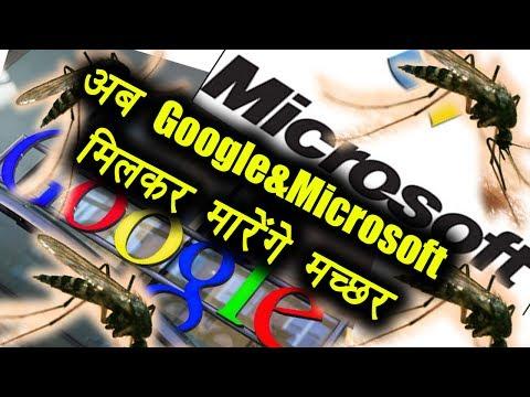 Google और Microsoft मिलकर मारेंगे मच्छर | वनइंडिया हिंदी