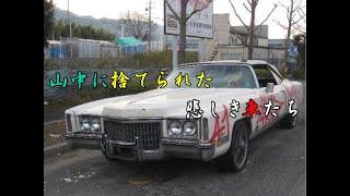 山中に捨てられた悲しき車たち(草ヒロ)  Sad cars abandoned in the mountains thumbnail