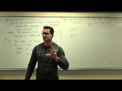 Statistics Lecture 8.2: An Introduction to Hypothesis Testing