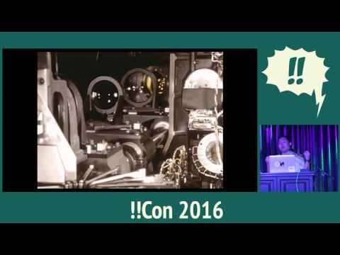 !!Con 2016 - Ink on fingers! The history of printing (with code!) By Mariko Kosaka