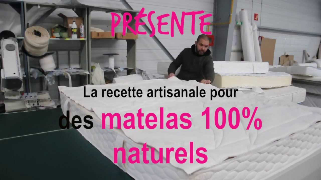 Matelas en latex naturel la recette de youtube - Matelas latex naturel ikea ...