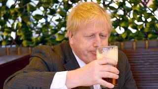 Boris Johnson urges people to continue following 'sensible' lockdown rules as England opens up