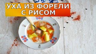 Уха из форели с рисом 💖Рыбный суп из форели с рисом. Вкусно