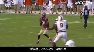 Miami vs Florida State College Football Condensed Game 2017