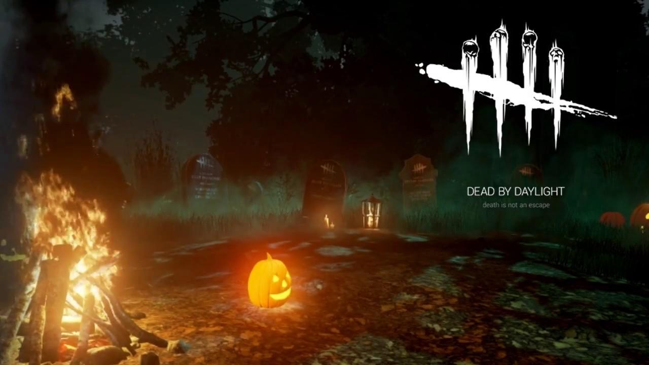 dead by daylight halloween main menu theme youtube