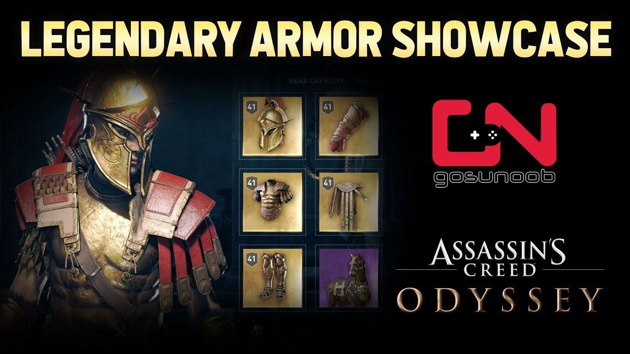 Ac Odyssey Legendary Armor Sets Locations Showcase