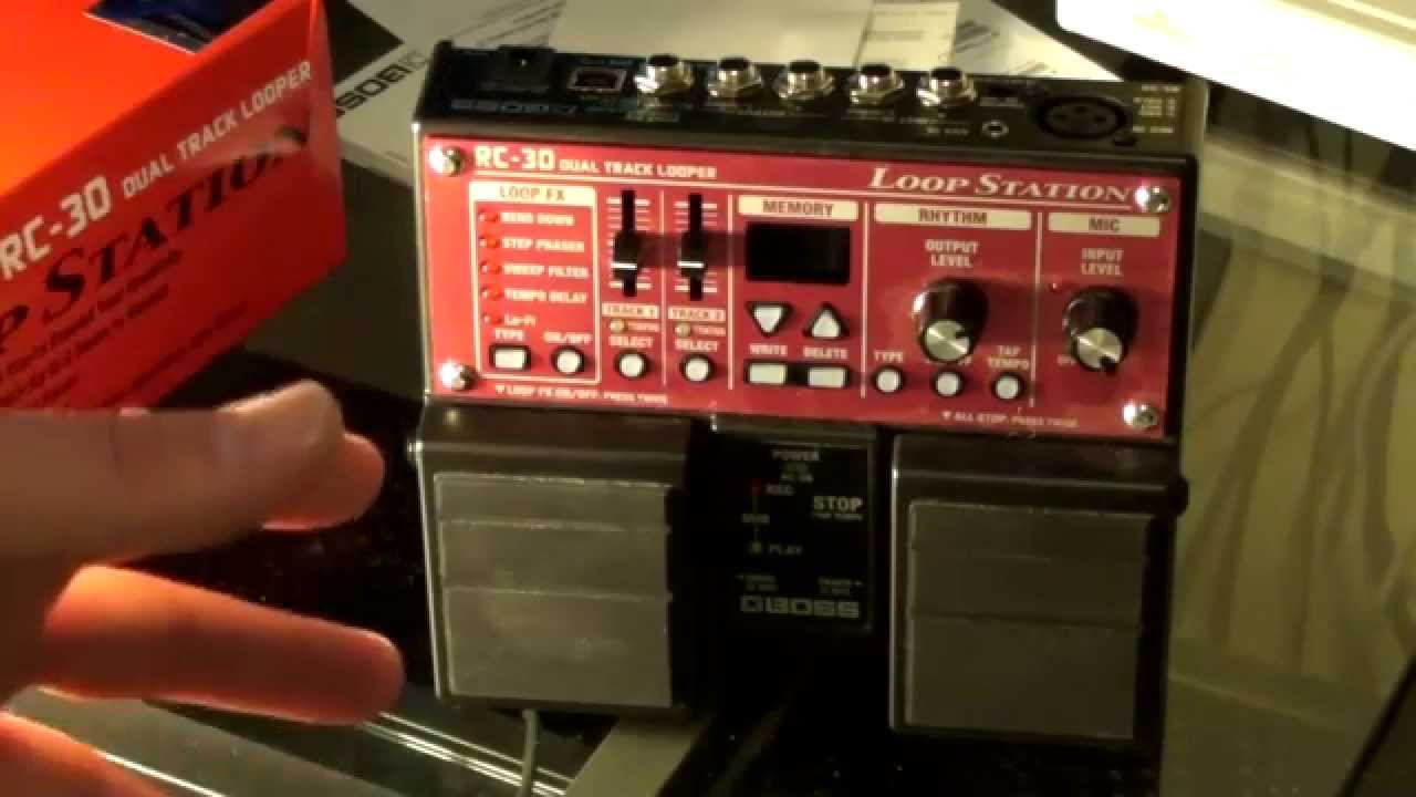 boss rc 30 loop station review ease of use youtube rh youtube com Boss Loop Station RC 3 boss rc-30 user guide