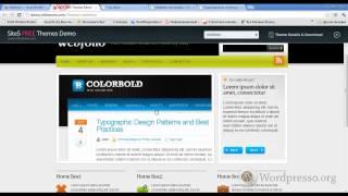 Уроки WordPress. Як налаштувати і оформити тему Webfolio на WordPress