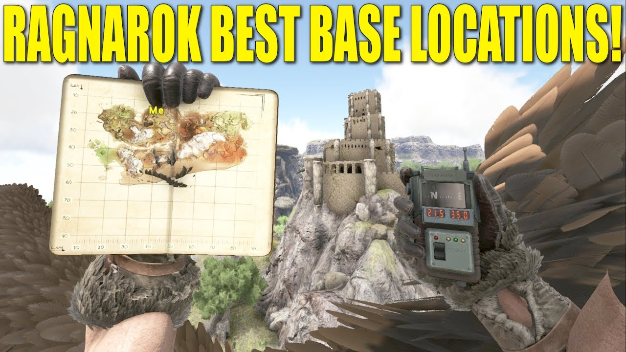 Best Places To Build In Ark Ragnarok