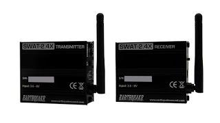 SWAT-2.4X - Stereo Wireless Audio Transmitter Set