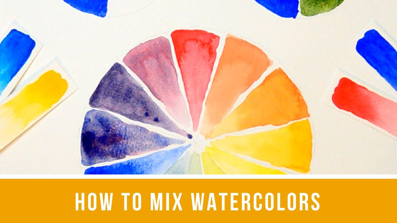 Watercolor Color Mixing - Single Primary, Split Primary, Earth ...