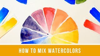 Watercolor Color Mixing - Single Primary, Split Primary, Earth Colors, and More!