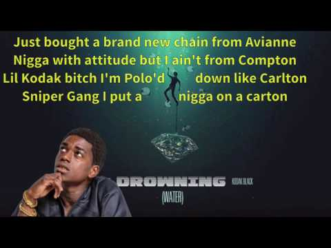 A Boogie wit Da Hoodie - Drowning feat. Kodak Black ( Lyrics )