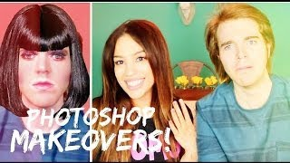 PHOTOSHOPPING YOUTUBERS w/ Shane Dawson!