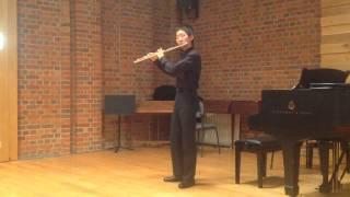 Yu Yuan (Daniel Mayes) Piece pour flute seule by Ibert