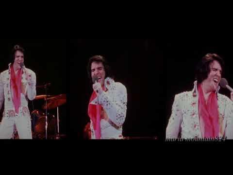 """Burning Love""  Elvis  On Tour 1972"