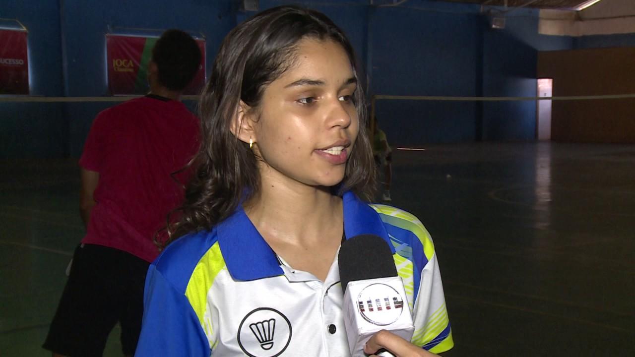 5562e532a4 Badminton do Piauí conquista medalhas em competição no Peru - YouTube