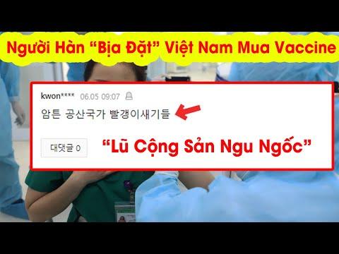 Dân mạng Hàn Quốc bịa đặt Việt Nam mua Vắc Xin  Covid như thế nào