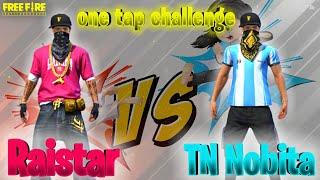 TN NOBITA VS TN RAISTAR ONE VS ONE || TAMIL FREE FIRE TRICKS