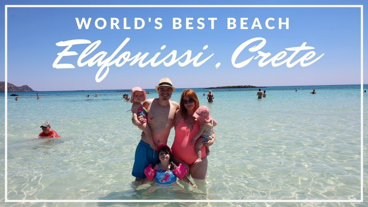 Day Trip To Elafonissi Beach In Crete Greece World Famous Elafonisi Beautiful Pink Sand