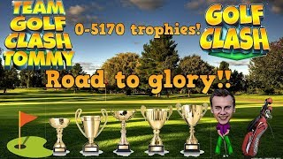 Golf Clash LIVESTREAM, Road to GLORY!! Episode 21 - Tour 9 grind! Tournament holes!