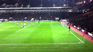 Andy Carroll Penalty VS Spurs