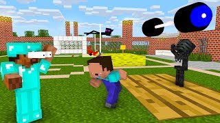 Monster School : NOOB vs PRO TEAM IN ATHLETICS CHALLENGE - Minecraft Animation