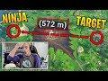 NINJA HITS HIS LONGEST SNIPE EVER ON FORTNITE! | Fortnite Best Moments #60