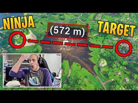 smotret video ninja hits his longest snipe ever on fortnite fortnite best moments 60 onlajn skachat na mobilnyj - whats the longest snipe in fortnite