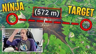 NINJA HITS HIS LONGEST SNIPE EVER ON FORTNITE! | Fortnite Best Moments #60