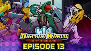 Digimon World Data Squad - Ep 13 - WarGremon X,Omnimon & Chaosmon - Optional Boss
