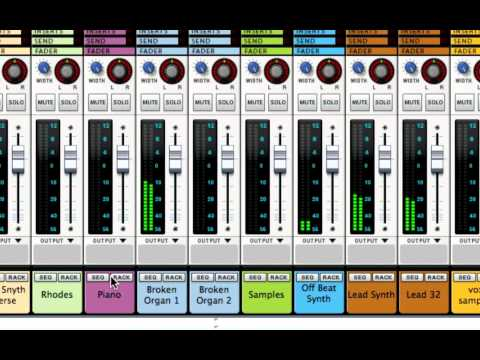 Learn How To Mix - Part 3 - Gain Staging - Static Mix - Leveling Tracks - LearnReason.com