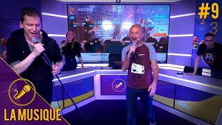 Team Max & PP Garcia vs Team Dina & Gauthier d'Allociné - La Musique S2#9