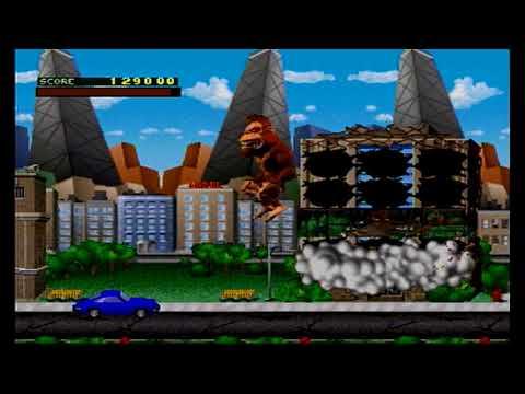 Rampage World Tour Sega Saturn Longplay